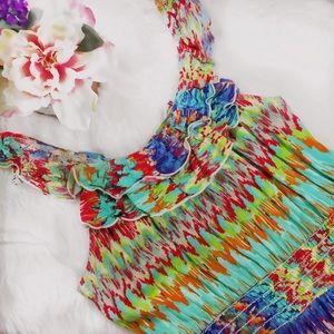As U Wish Sleeveless Women's size S Raffles Dress